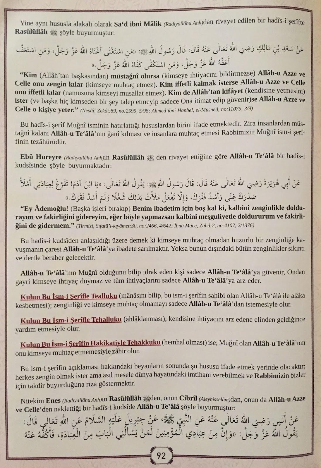 Zengin Olmak İçin (Cübbeli Ahmet Hocaefendi)