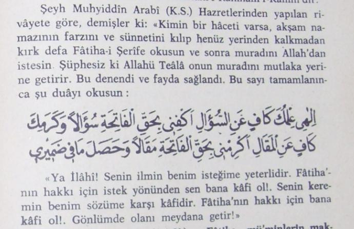 40 fatiha