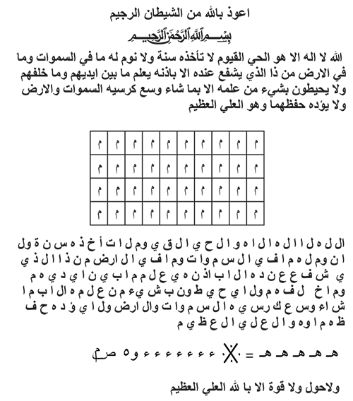 Her murad için her dilek için her hastalık için ayetel kürsi (yeni)