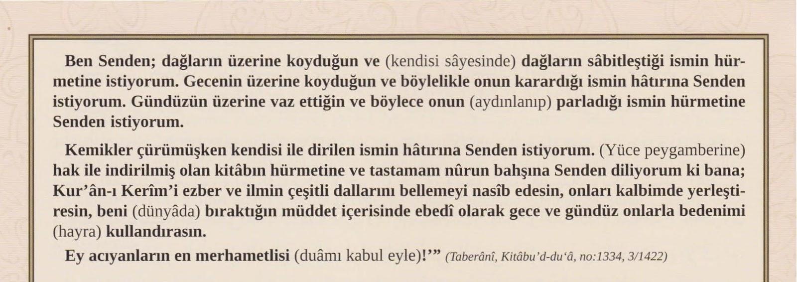 Kur'an ve Öğrenilen İlimleri Unutmamak