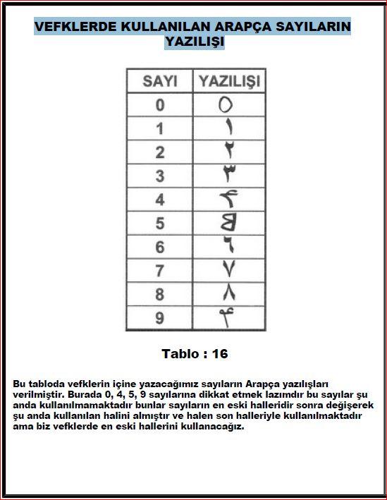 Havass İlmi Kursu-13 Arapça Sayılar