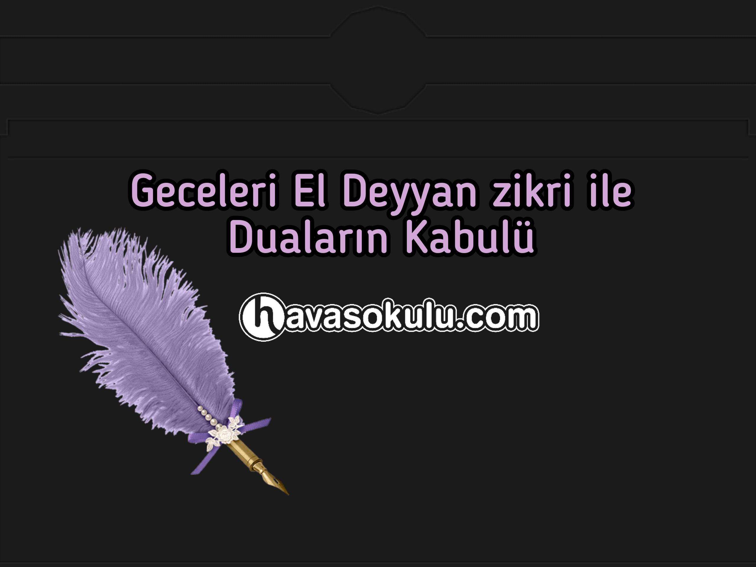 Deyyan Zikri