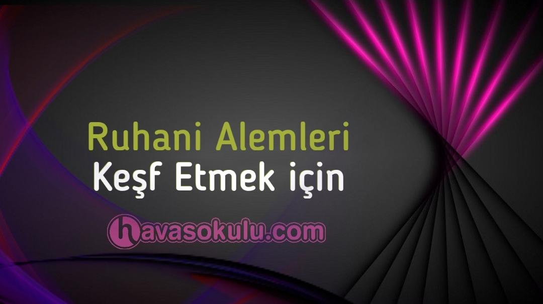 ruhani alem